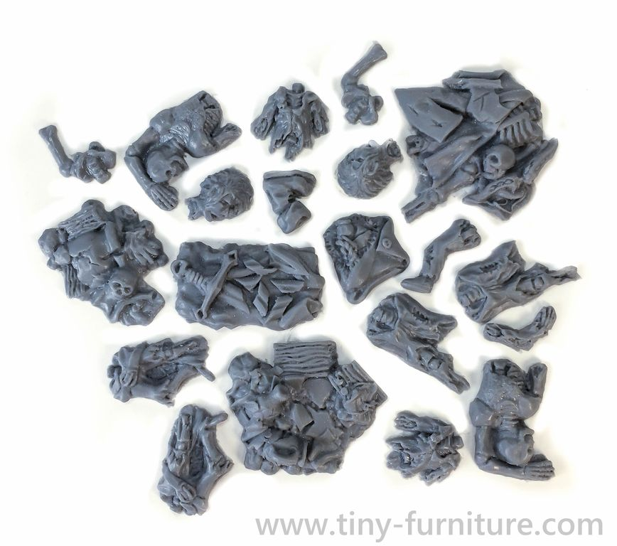 Tiny-Furniture #186 - Dungeon Remains and Relics - UNPAINTED