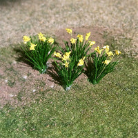 "MP Scenery Products 70060 - O Scale - Daffodils - 1/2"" Height, 18/pk"
