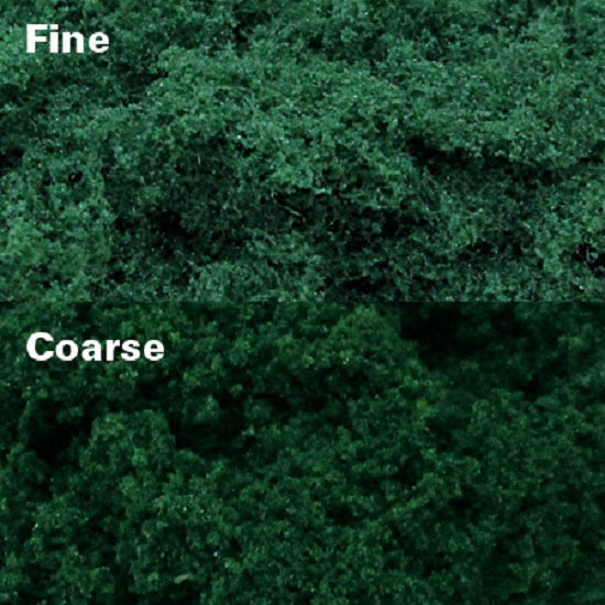 MP Scenery 70925 - Dark Green Clump Foliages - Fine, pack of 150 Sq. In.
