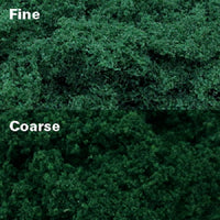 MP Scenery 70926 - Dark Green Clump Foliages - Coarse, pack of 150 Sq. In.
