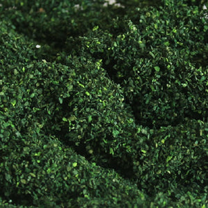 MP Scenery 70953 - Dark Green Foliage Clusters - Coarse, pack of 150 Sq. In.