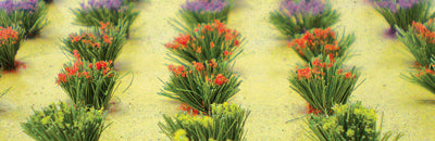 JTT Scenery Products 95581 - HO Scale - Flower Bushes 30pk