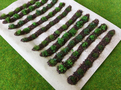Serious-Play - Farm Crops Set 01 Green Patch - Static Grass Tufts