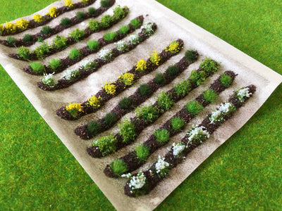 Serious-Play - Farm Crops Set 02 Spring Flower Crop Static Grass Tufts