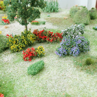 "MP Scenery Products 70001 - HO Scale - Flower Bushes - 1/2"" to 3/4"" Height,14/pk"