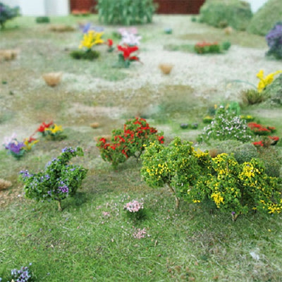 MP Scenery Products 70004 - O Scale - Flower Trees - 1-1/2