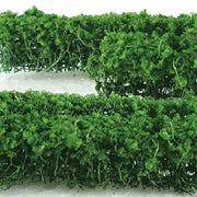"MP Scenery Products 70027 - HO Scale - Green Hedges 5"" x 3/8"" x 5/8"" H 6/pk"