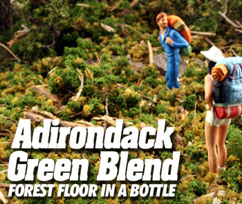 Scenics Express 897B -  GREEN ADIRONDACK BLEND 32 oz. SIFTER-SHAKER BOTTLE