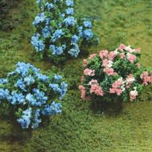 JTT Scenery Products 95610 - O Scale - Hydrangea 6pk