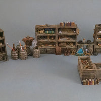 Hero's Hoard - HH350 Series - General Store Goods Sets - 28mm