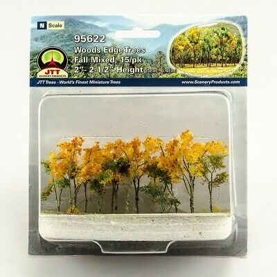 JTT Scenery Products 95622 - N Scale - Fall Woods Edge Trees 2