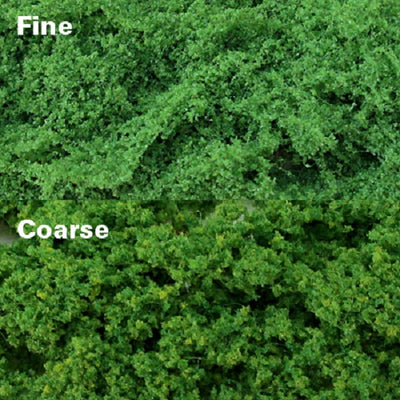 MP Scenery 70921 - Light Green Clump Foliages - Fine, pack of 150 Sq. In.