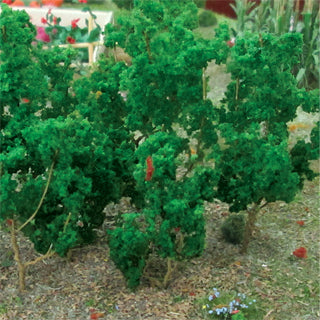 "MP Scenery Products 70020 - Medium Green Branches 1.5"" to 3"" height, (50/pk)"
