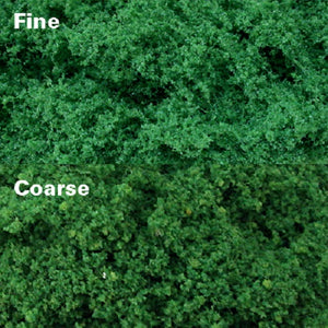 MP Scenery 70924 - Medium Green Clump Foliages - Coarse, pack of 150 Sq. In.