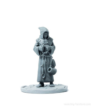 Tiny-Furniture - TF-F12 - Monk - UNPAINTED