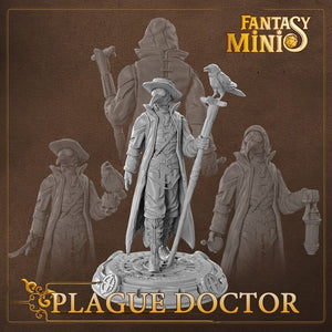 Fantasy Minis - FM01 - Plague Doctor 28mm