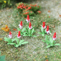 "MP Scenery Products 70036 - HO Scale - Primula Vialii 1/2"" Height, 32/pk"