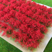 Serious-Play - Red Flower Bush - Static Grass Tufts