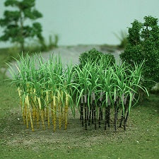 "MP Scenery Products 70127 - HO scale - Sugarcane Plants, 1 3/8"" Height, 32/pk"