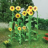 "MP Scenery Products 70011 - HO Scale - Sunflowers 1"" Height, 16/pk"