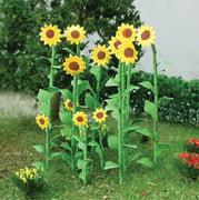 "MP Scenery Products 70012 - O Scale - Sunflowers 2"" Height, 16/pk"