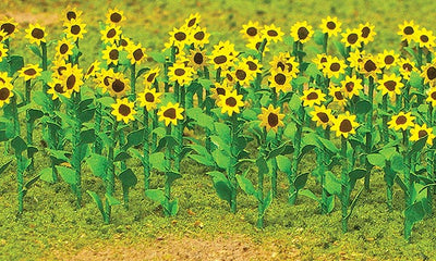 JTT Scenery Products 95523 - HO Scale - Sunflowers 16/pk