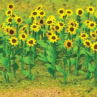JTT Scenery Products 95524 - O Scale - Sunflowers 16/pk