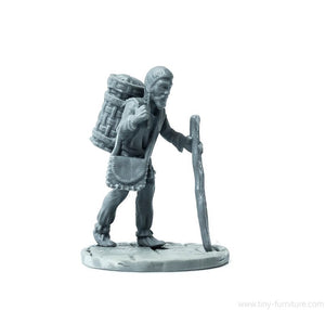 Tiny-Furniture - TF-F15 - The Hermit - UNPAINTED