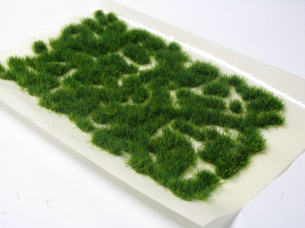 Serious Play Shrub Green Wild Stray Static Grass Tufts Aq Hobbies