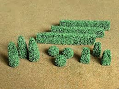 JTT Scenery Products 95585 - O Scale - Boxwood Plants 15pk