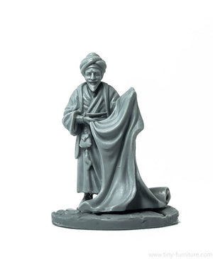 Tiny-Furniture - TF-F06 - Carpet Merchant - UNPAINTED