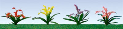 JTT Scenery Products 95548 - HO Scale - Flower Plant 3/8
