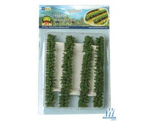 JTT Scenery Products 95615 - HO Scale - Hedgerows 4pk