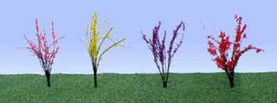 JTT Scenery Products 95545 - HO Scale - Flower Bushes 1/2