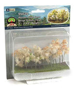 "JTT Scenery Products 95625 - N Scale - Beige Woods Edge Trees 2"" - 2.5"" 15/pk"