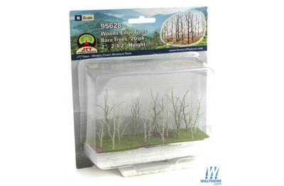 Scenery Products 95628 - N Scale - Bare Woods Edge Trees 2