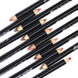 12-color nude matte lip liner Fonsany Colour