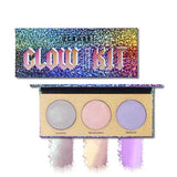 3 Color Chameleon Highlighter Palette Eye Shadow fonsany