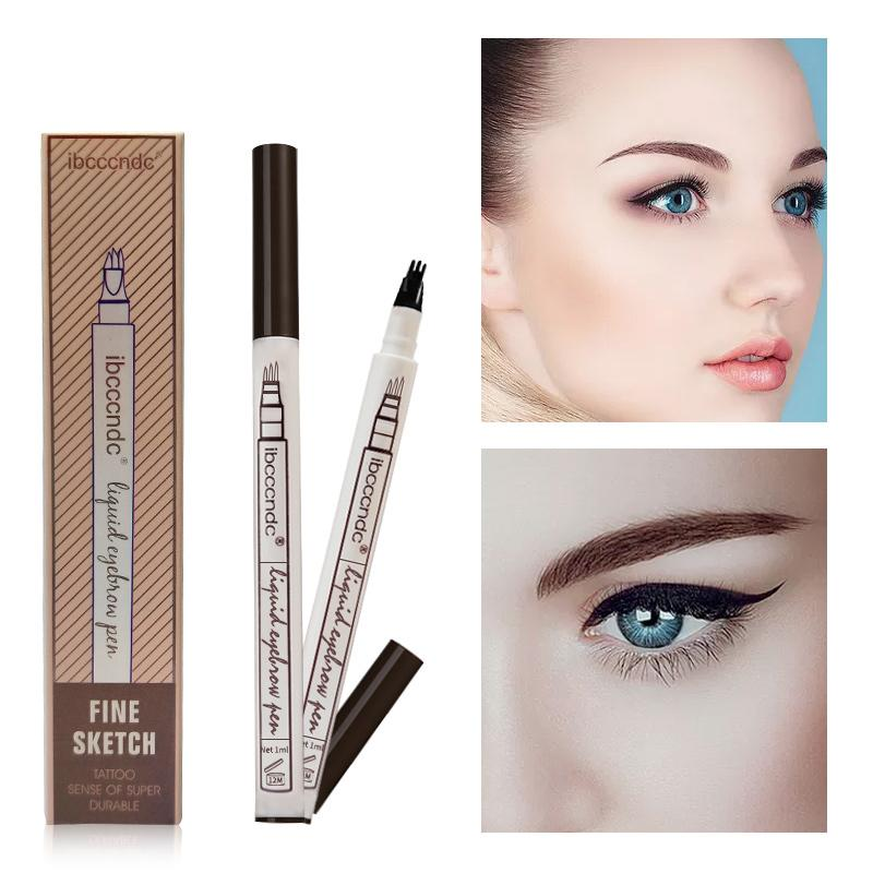 3 Colors Waterproof Tattoo Durable Eye Brow Pencil eyebrow fonsany