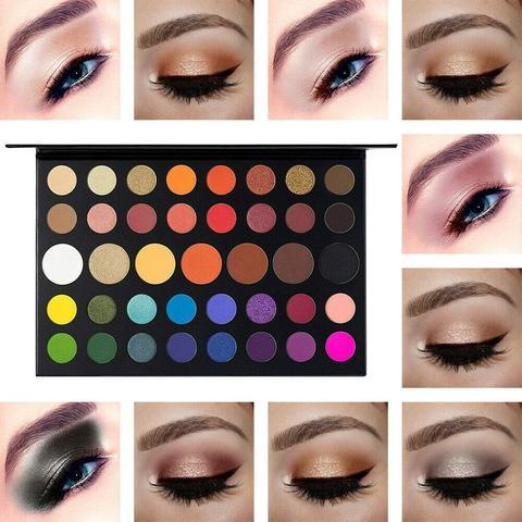 39 Color Professional EyeShadow Palette Eye Shadow Fonsany