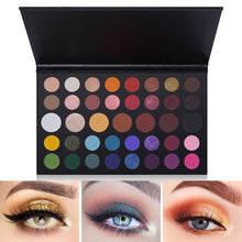 Load image into Gallery viewer, 39 Color Professional EyeShadow Palette Eye Shadow Fonsany