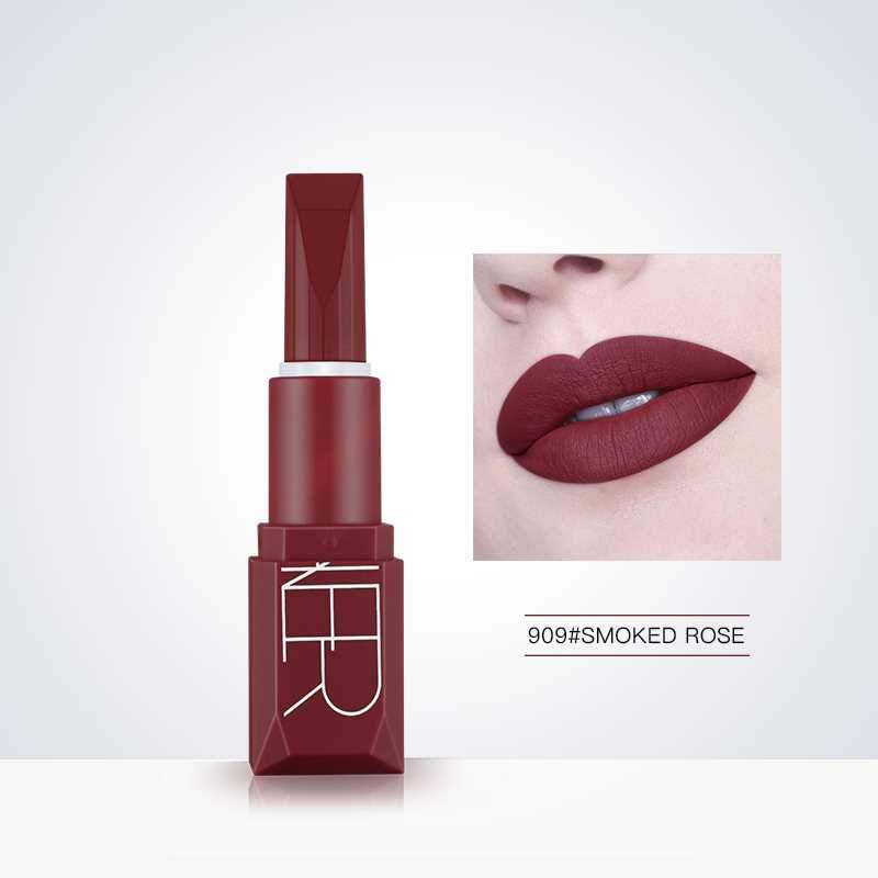 5-color long-lasting matte lipstick Fonsany Smoked Rose 909
