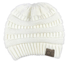 Load image into Gallery viewer, A Handmade Soft Knit Beanie myurbanluxe Solid White