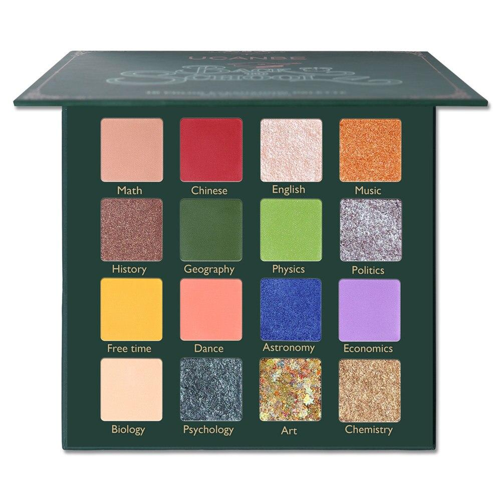 BACK TO SCHOOL Eye Shadow Palette Fonsany 16 colors