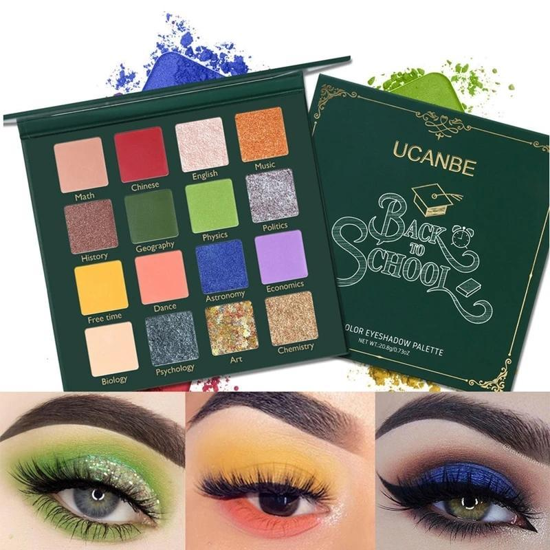 BACK TO SCHOOL Eye Shadow Palette Fonsany