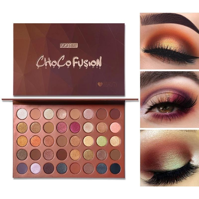 Bronzer Artist Eye Shadow Palette / 40 Colors Fonsany