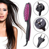 Ceramic Straightener Brush Fonsany