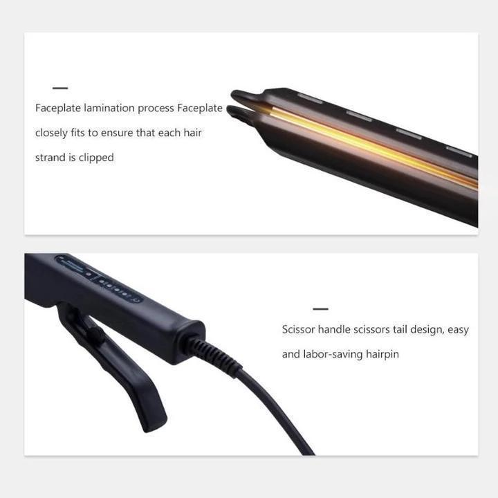 Ceramic Tourmaline Ionic Flat Iron Hair Straightener lq