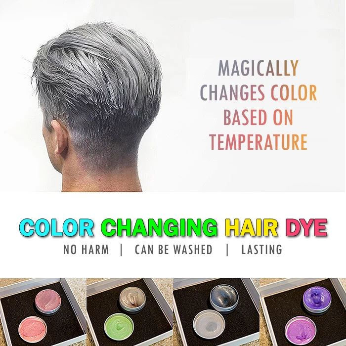 Color Changing Hair Dye hair tool theninjabeauty