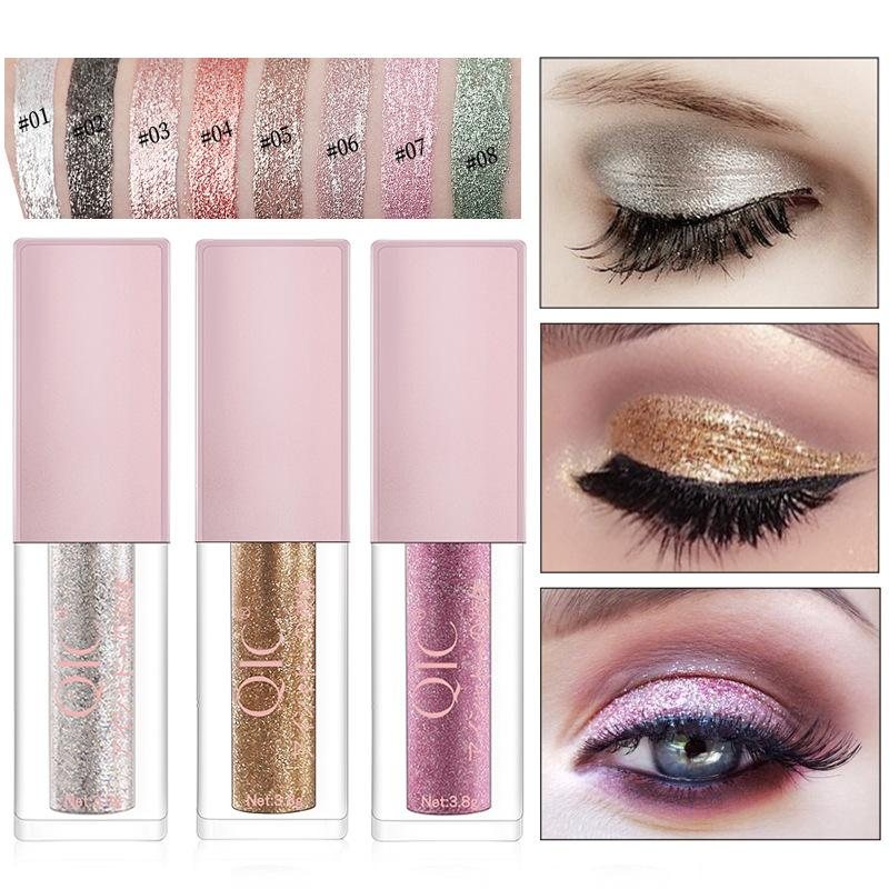 Colorful Shiny Diamond Liquid Eyeshadow Fonsany